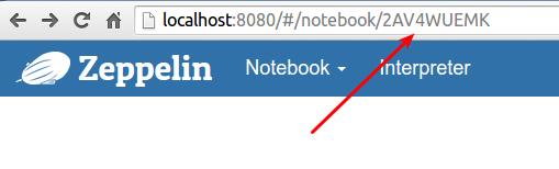 Notebook as Homepage
